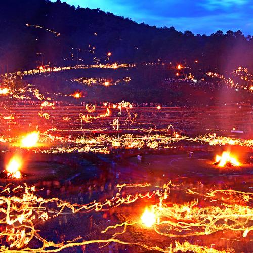 火把节是哪个民族的节日?