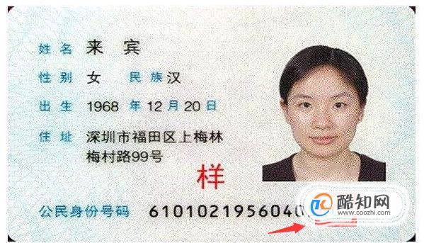 身份证号码的数字代表什么意义图片图片