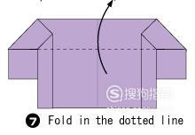 手工折纸-几步折一套迷你家具