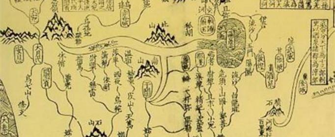 古代是怎么画地图的