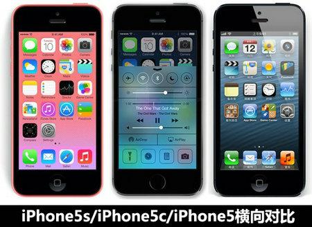 iphone5s與5c的區別【組圖對比】