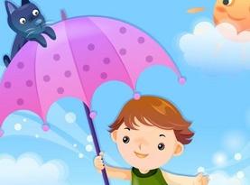 夏季如何為兒童選擇晴雨傘