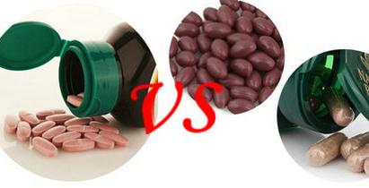葡萄籽片剂与胶囊有什么区别