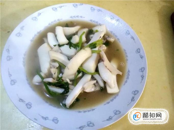 墨鱼炒芹菜怎么做好吃?