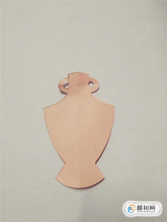 幼儿剪纸—陶瓷瓶步骤图