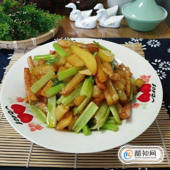 怎样做芹菜炒土豆丝