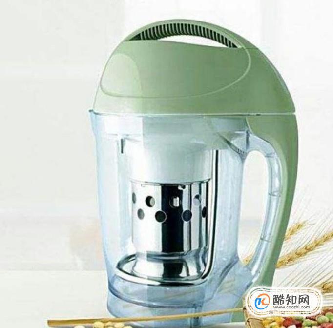 榨汁机怎么榨豆浆