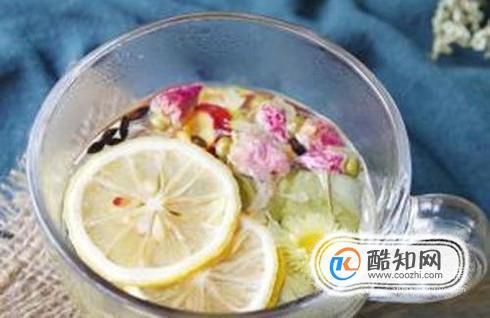 柠檬荷叶减肥茶