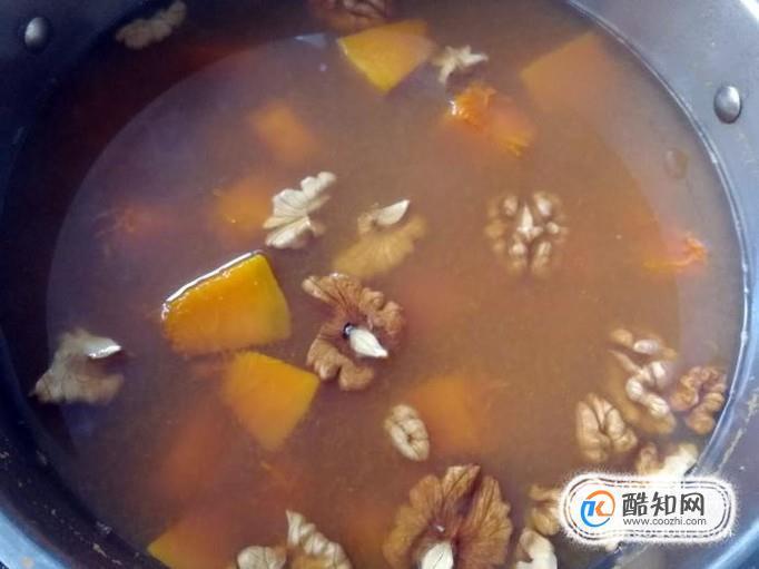核桃南瓜汤的家常做法