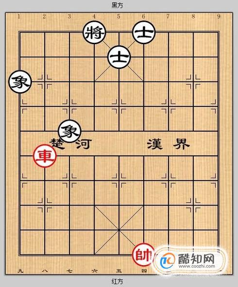 象棋殘局之車破雙士象3攻略