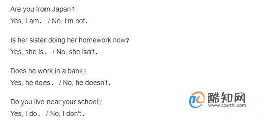 小学英语一般疑问句