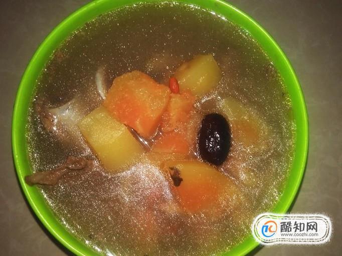 牛骨木瓜汤的做法