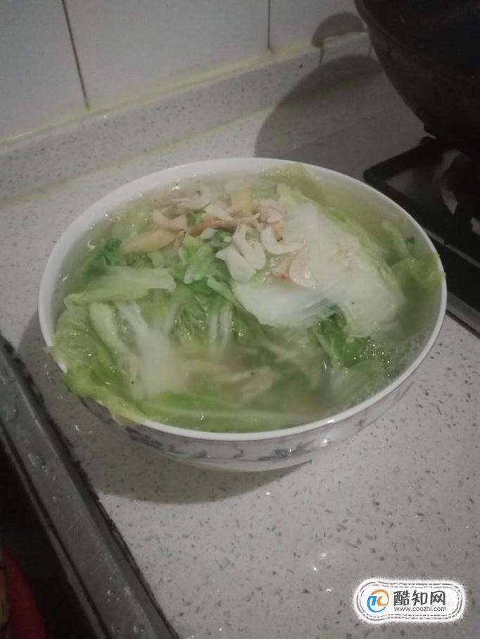 如何做白菜蝦仁湯?