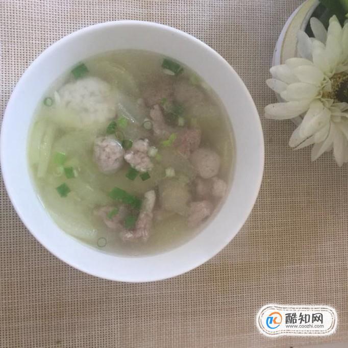 黃瓜丸子瘦肉湯如何做好喝?