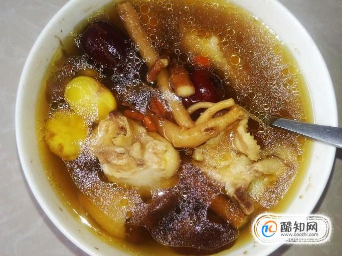 雞翅滋補湯的做法