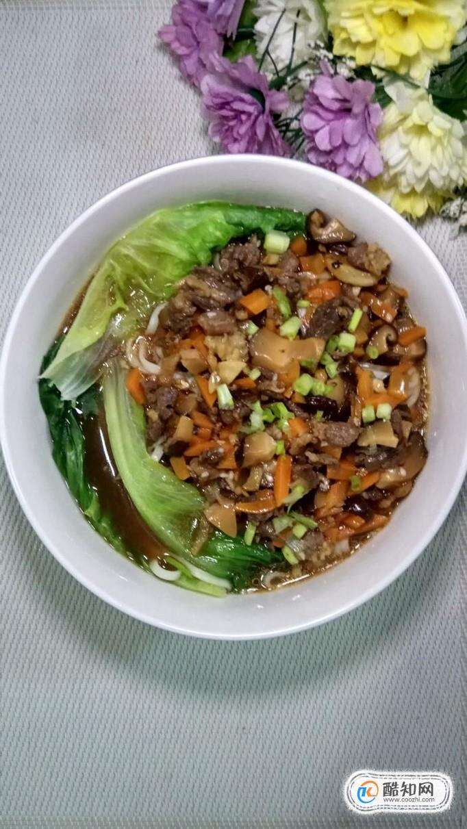 怎样做美味的牛肉香菇炸酱面?