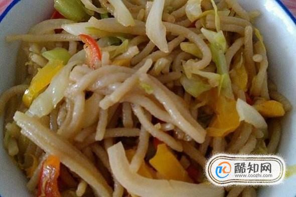 怎么做什錦炒莜面魚