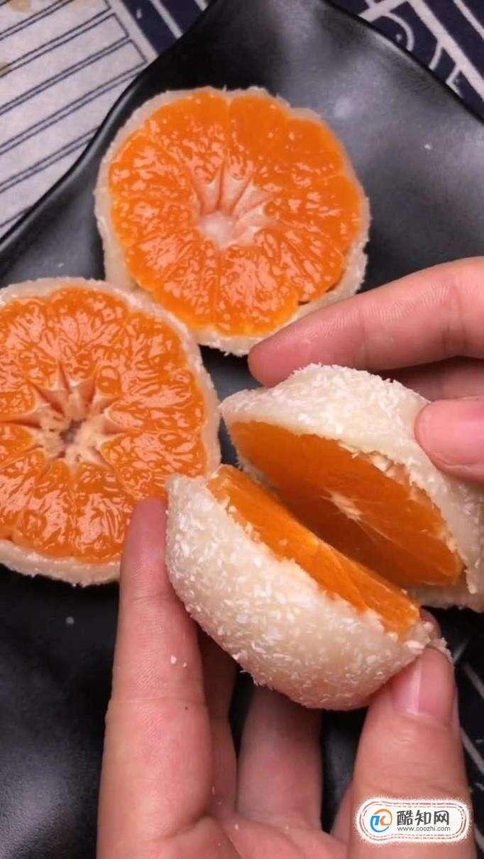 如何在家做水果糯米糍?