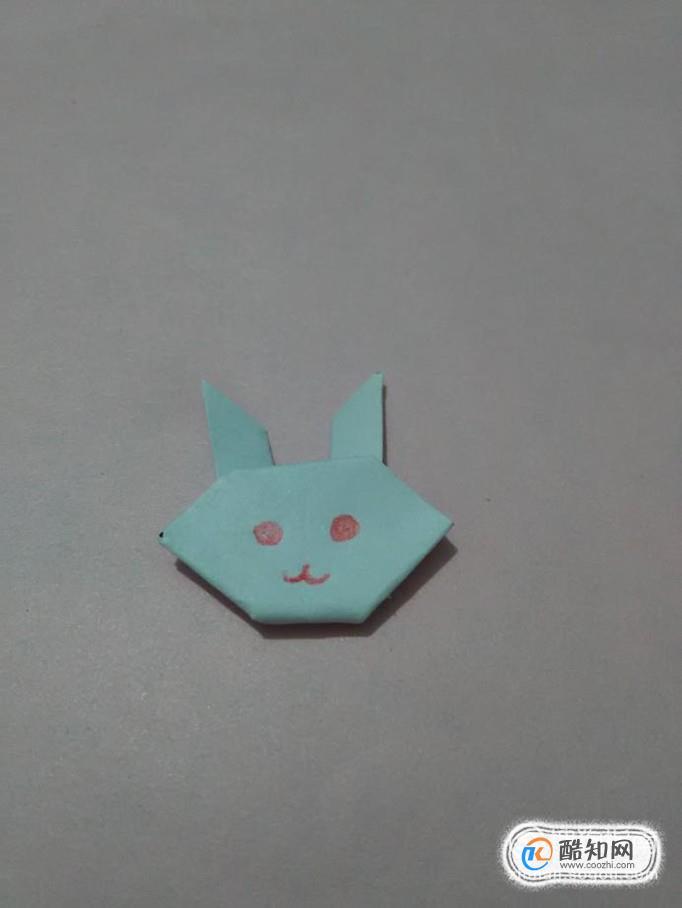 簡單折紙之可愛的小兔子