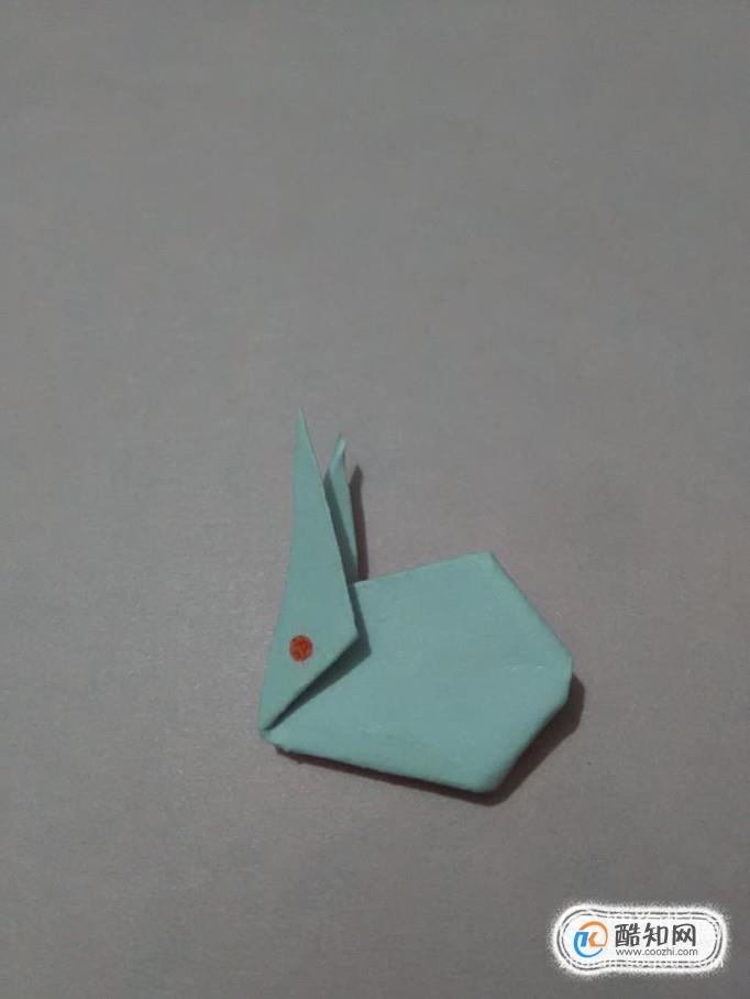 折纸教程  怎样折一只小兔子