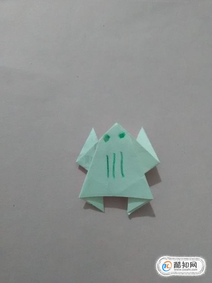 青蛙折纸怎么折