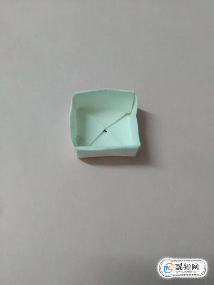 方形纸盒折法图解