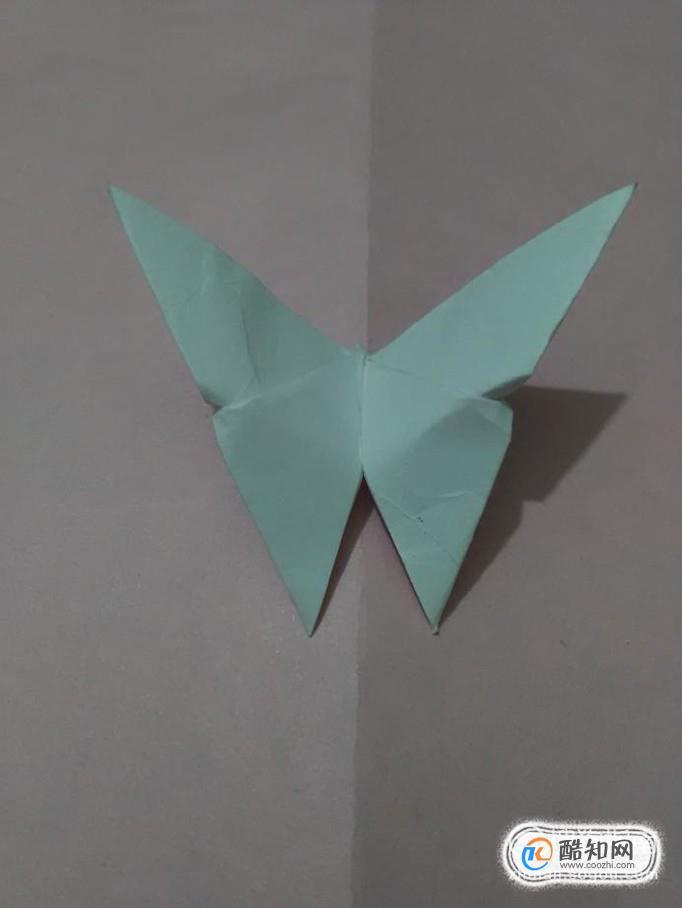 蝴蝶怎么折最简单的 最简单的立体蝴蝶折法图解