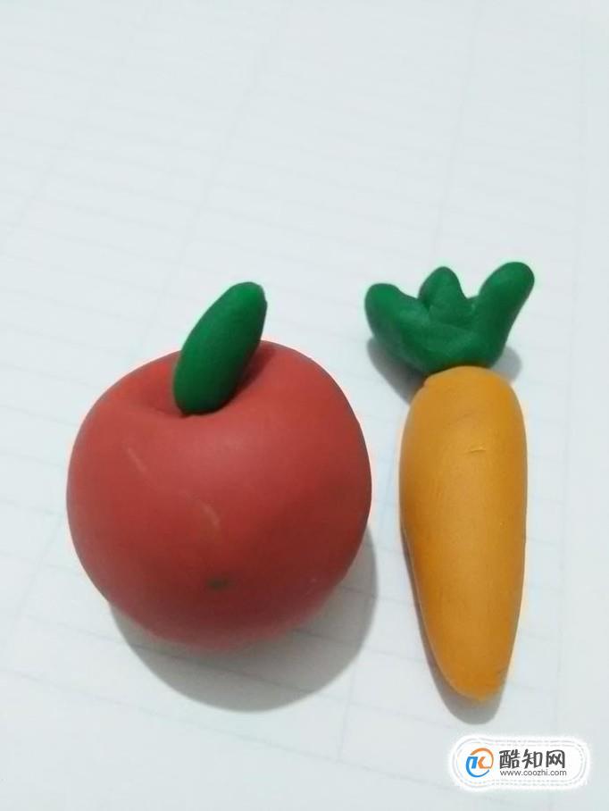一起來做超萌的粘土果蔬