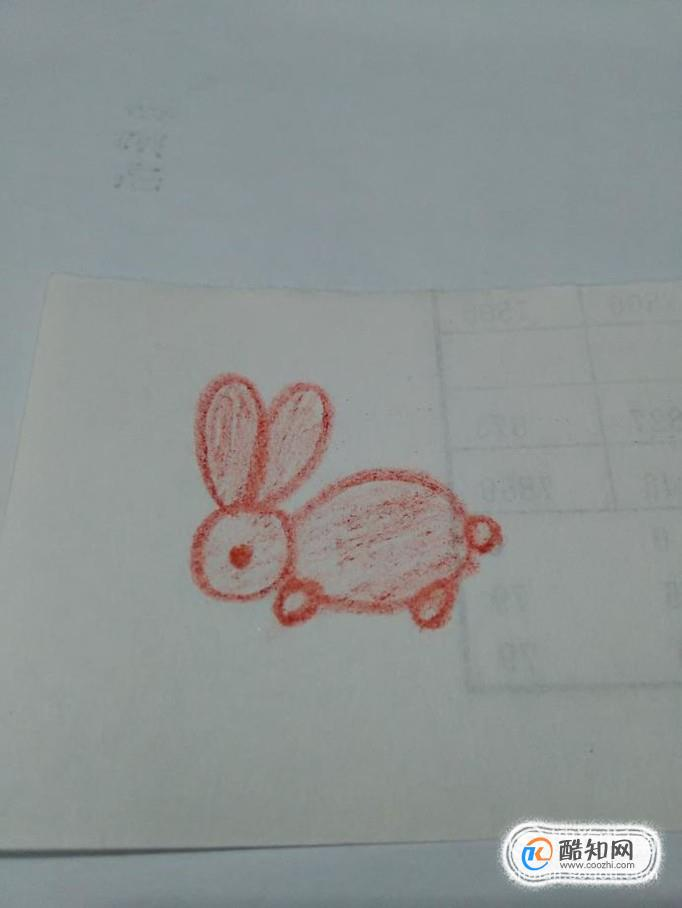 教宝宝画画  怎么画小兔子