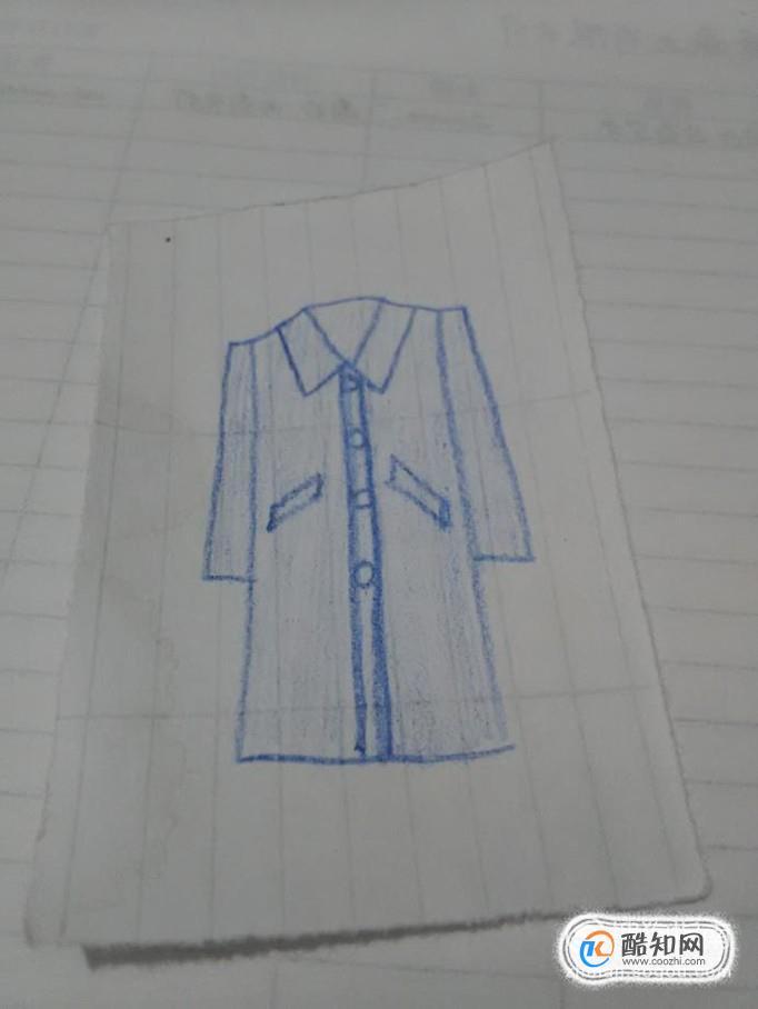 简笔画——如何画大衣?