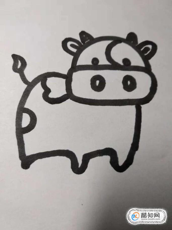 奶牛的简笔画怎么画?如何画奶牛的简笔画?