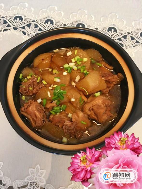 鸭肉萝卜煲的家常做法
