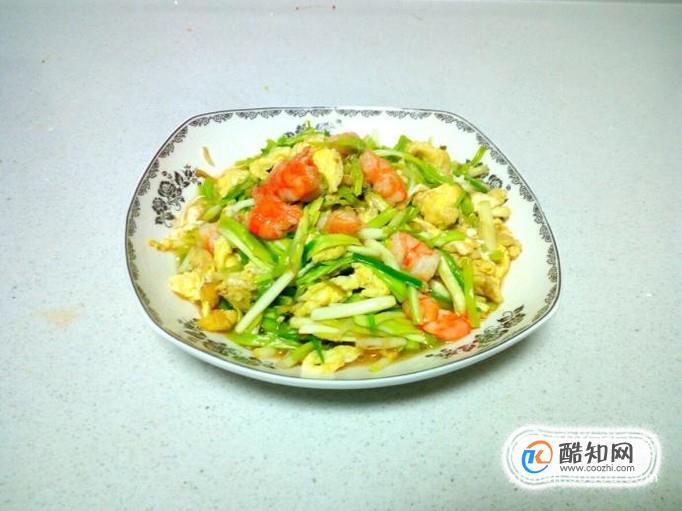 虾仁炒韭黄鸡蛋的家常做法