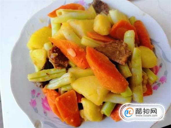 怎么做超美味的土豆芸豆胡萝卜炖牛肉?