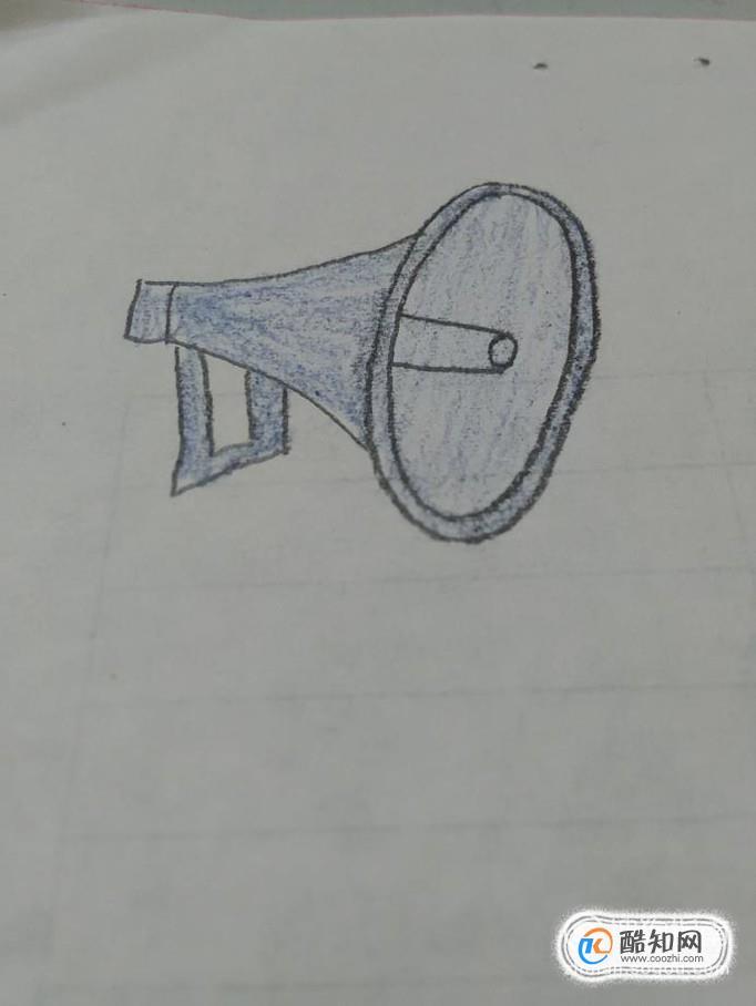 简笔画之大喇叭