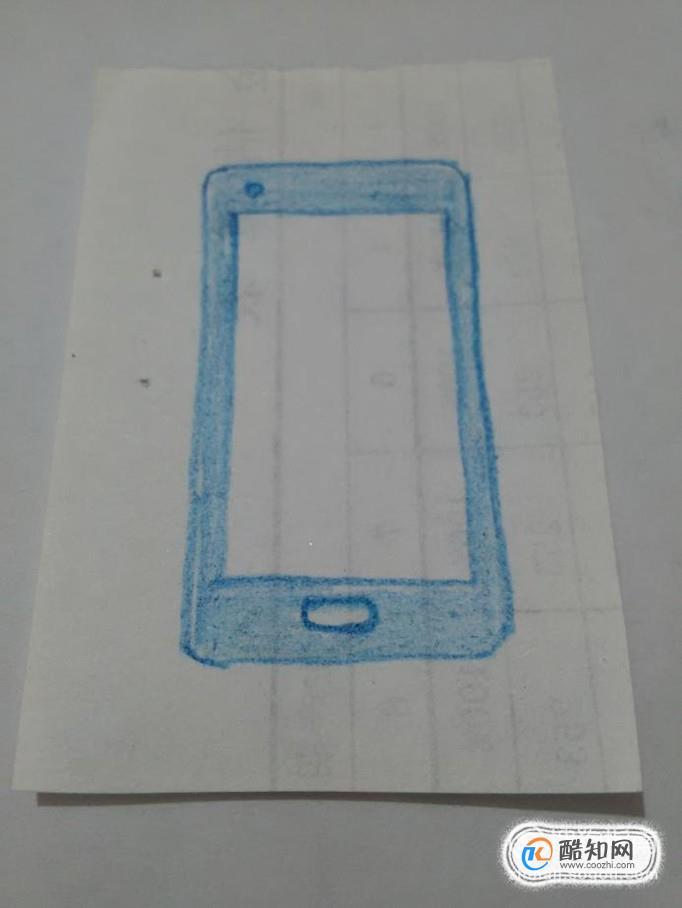 儿童简笔画教程:怎样画手机