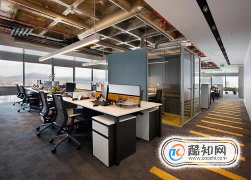 办公室装修设计效果图常见三种风格