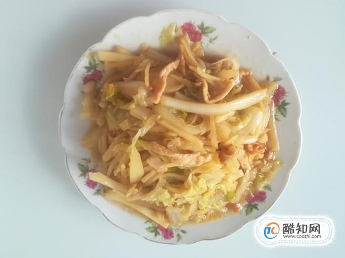 里脊肉炒青麻叶土豆丝的做法