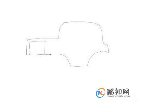 简笔画大全:压路机和坦克绘制方法