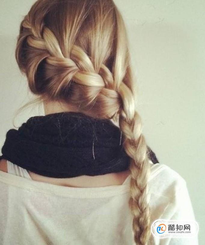 长发美女几款简单发型(之三十七)