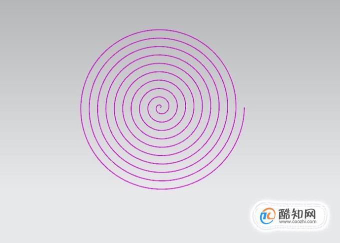 UG10.0软件中如何创建涡状线?