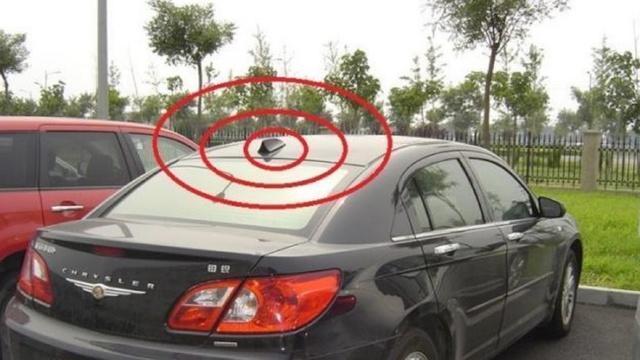车顶上大多都有个翘起的小尾巴,这是做什么用的?