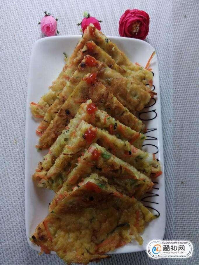 怎样做美味的南瓜胡萝卜鸡蛋饼?