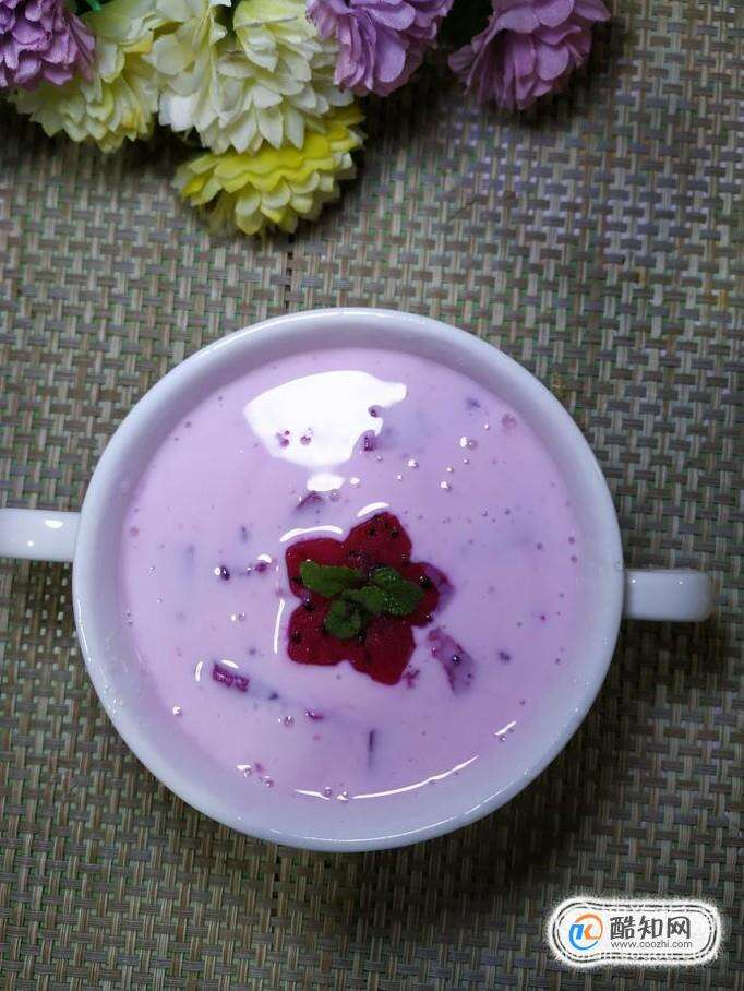怎样自制美味的火龙果酸奶?