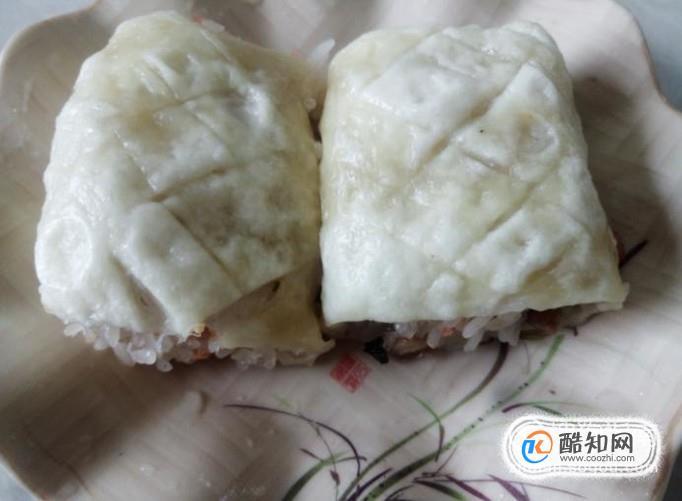 自做的糯米香肠面包卷