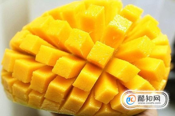 芒果怎么切好
