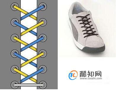 怎么系鞋带好看之15种系鞋带的方法!