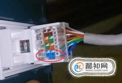 网线插座安装,网线模块接线方法详细图解方法