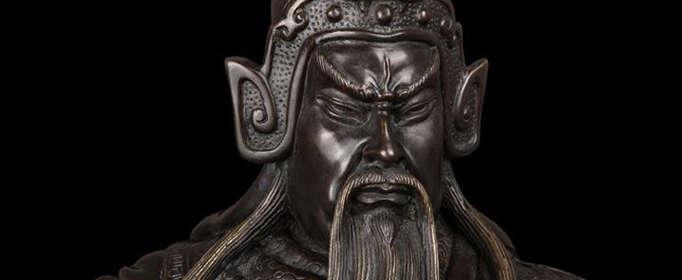 关羽的雕像为什么都是闭眼的?