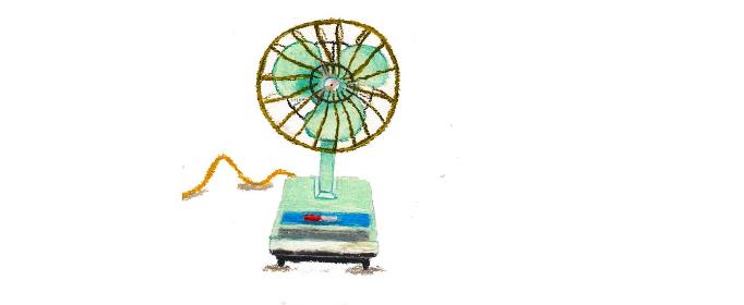 电风扇为什么会使人感到凉快?